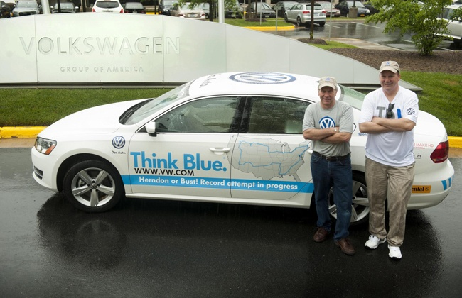 VW Passat TDI Clean Diesel set to Challenge Guinness Record for Fuel Economy. #NissanCars