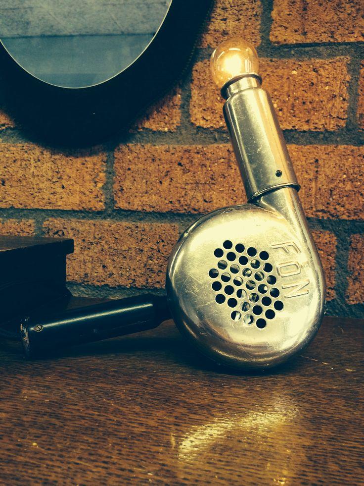"Blow Dryer Lamp ""Foen"" by Briight Vintage&Bulbs"