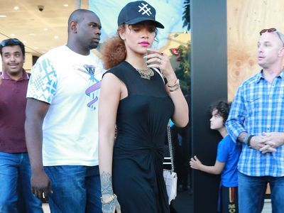 Where Rihanna shops in Beverly Hills