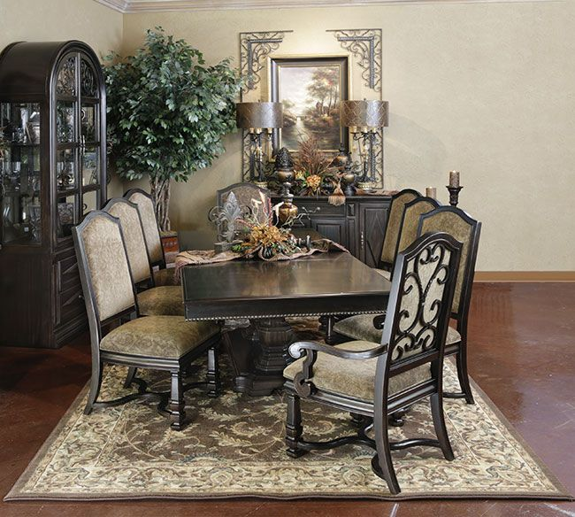 Tuscan Style Dining Room Furniture: 142 Best Images About Tuscan Decor On Pinterest