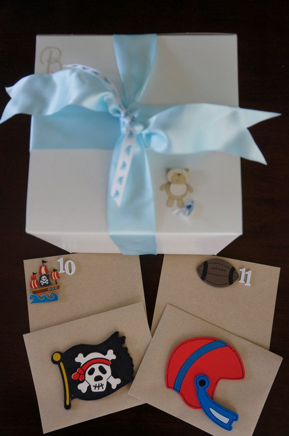 Baby Shower Wish Cards  Boy by DrizzlesBySally on Etsy, $90.00