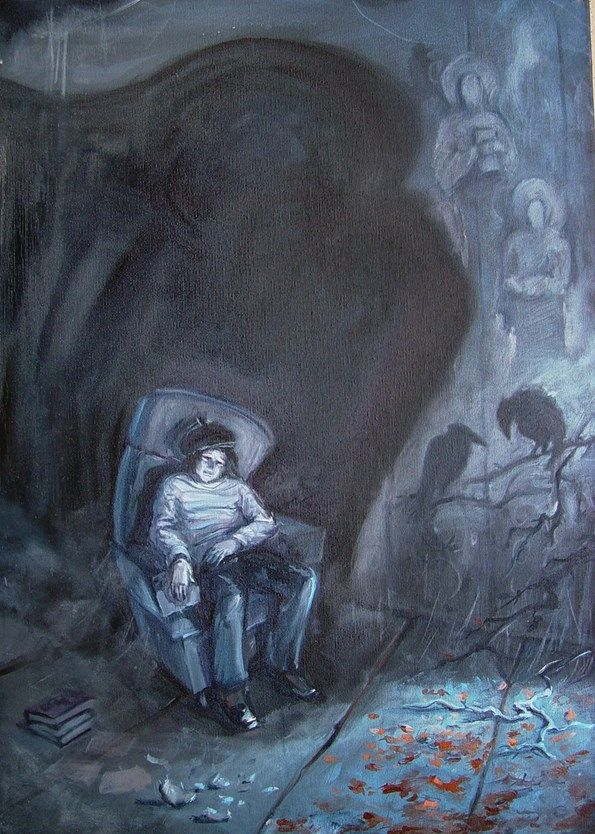 Other Inside Vicious Mime ready painting