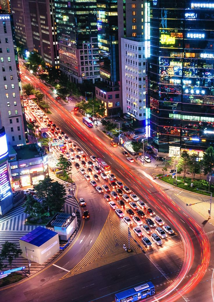 Visitors flock to Gangnam to see Seoul at its most metropolitan.