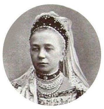 Графиня Анна Егоровна Комаровская (1832—1906) — фрейлина великой княгини Александры Иосифовны