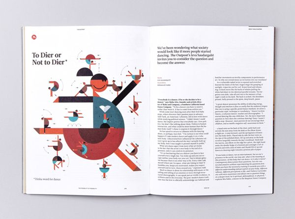 Infographics and illustrations / The Outpost by Romualdo Faura, via Behance