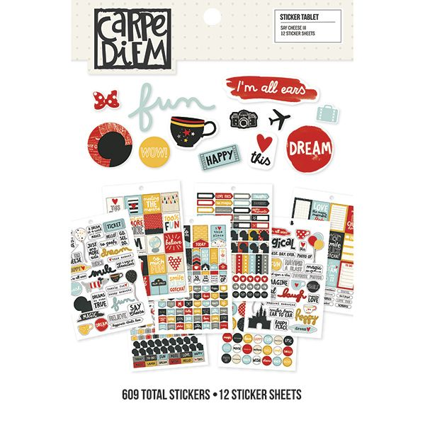 Say Cheese III sticker tablet - 12,50 €