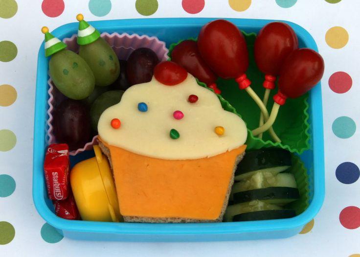 Cupcake Bento Box for Kids