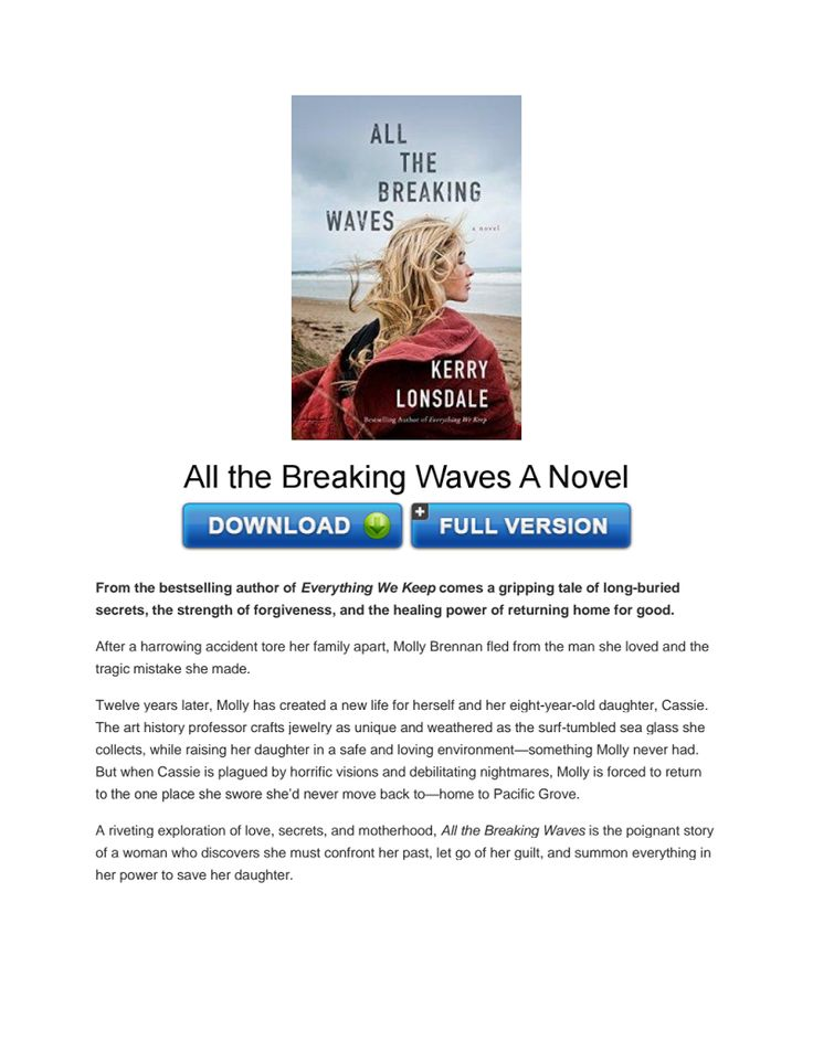 Download All the Breaking Waves A Novel PDF