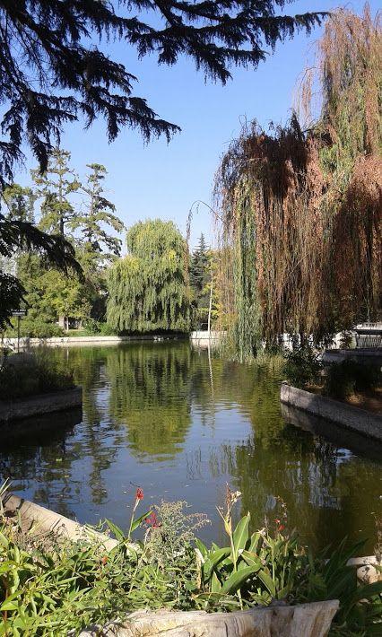 Bellisimooo !!! paseando por Quinta Normal , Stgo , Chile..