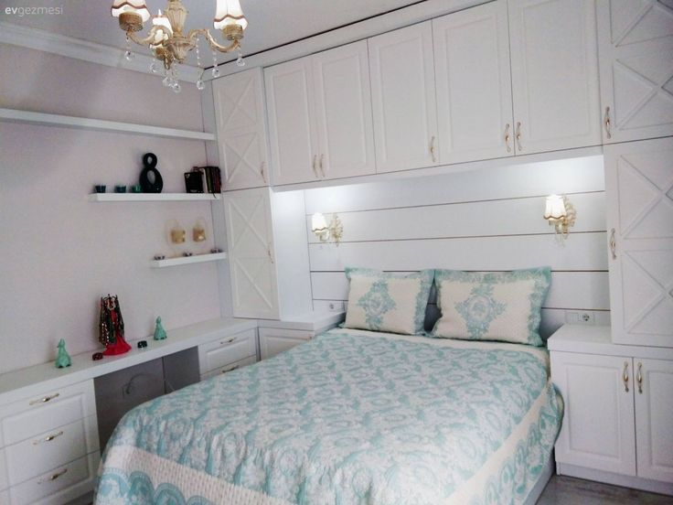 Handy and stylish bedroom design. From Sibel.