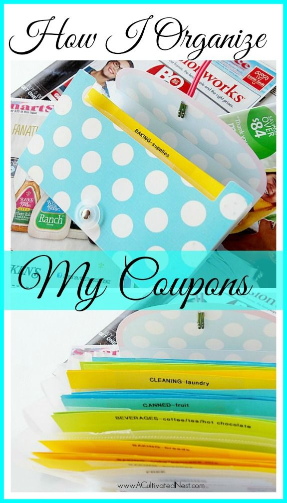 Couponing for normal people! Couponing doesn't have to be complicated or take loads of time in order to work for you. I am NOT an extreme couponer yet I save money every week using coupons. I organize my coupons in a way that allows me to easily use them. Here's how I do it - maybe it can help you too!