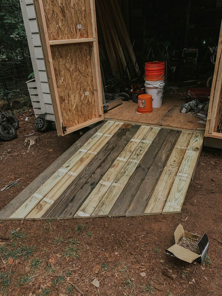 DIY shed ramp This Minimal House in 2020 Shed ramp