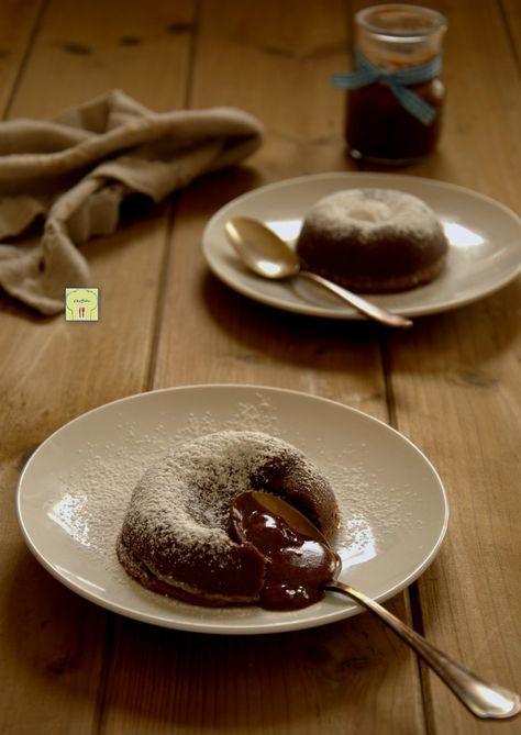 nutella lava cake