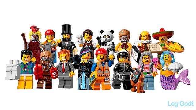 レゴ・ムービーに出てくる変わりミニフィグはこんなの、来年発売へ