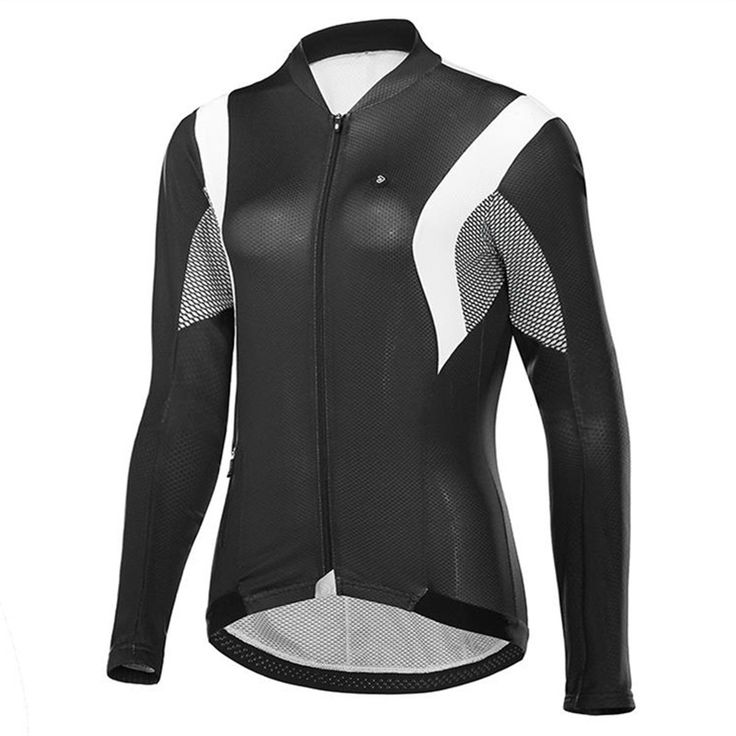 Jakroo ELT Women's Full Sleeve Cycling Jersey Air-surf Fabric With Breathable Mesh Ordinary Model Lightweight Cycling Clothing