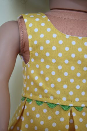 AG doll dress tutorial w/ printable pattern :)