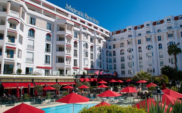 Hôtel Majestic Barrière   Cannes France