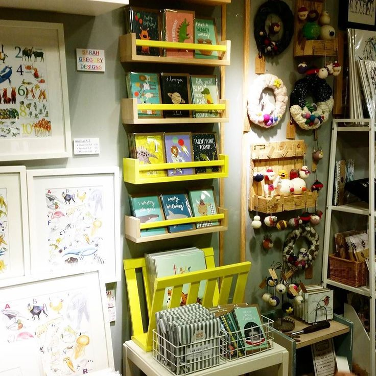 Today I set up my space at my new stockist @designat44! There's me in the middle extra bright and colourful with my yellow display