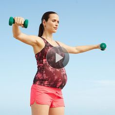 Watch Celebrity Pregnancy Workout: Total Body Tune-Up in the  Video