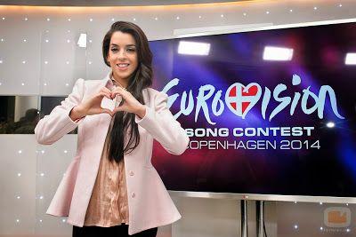 cotibluemos: La eurovisiva Ruth Lorenzo pone rumbo a Copenhague...