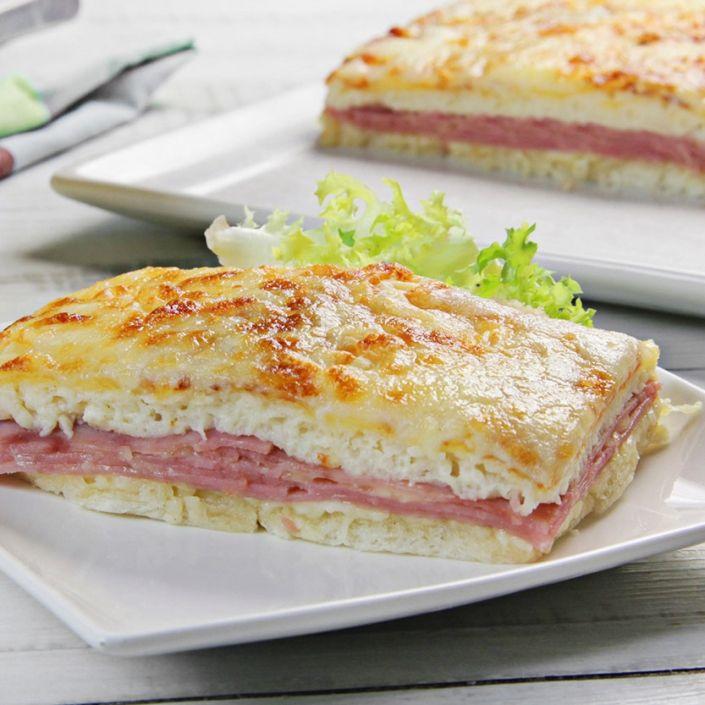 Receta Pastel de pan de molde gratinado - Ybarra en tu cocina Sandwiches, Cooking, Blog, Yummy Yummy, Canela, Ham And Cheese, Pastries Recipes, Vegan Recipes, Vegan Food