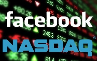 Facebook's first day of trading after its IPO looks to be a bruising one.