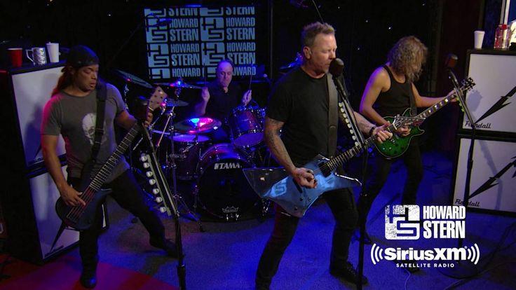 "Metallica ""Sad but True"" Live on the Howard Stern Show"