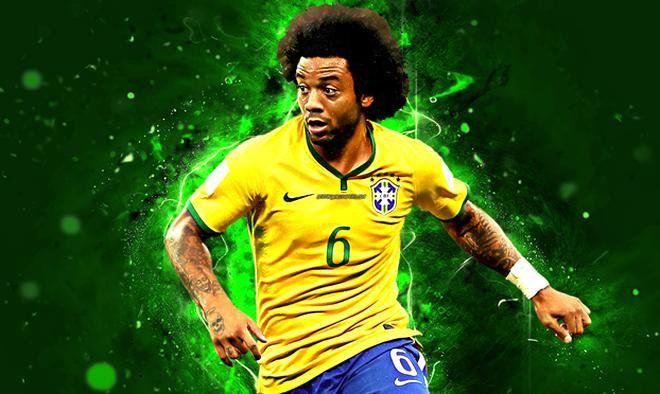 Download Wallpapers Marcelo 4k Match Brazil National Team Football Stars Marcelo Vieira Da Silva Junior Soccer Neon Lights Brazili In 2020 Football Team Football Teams