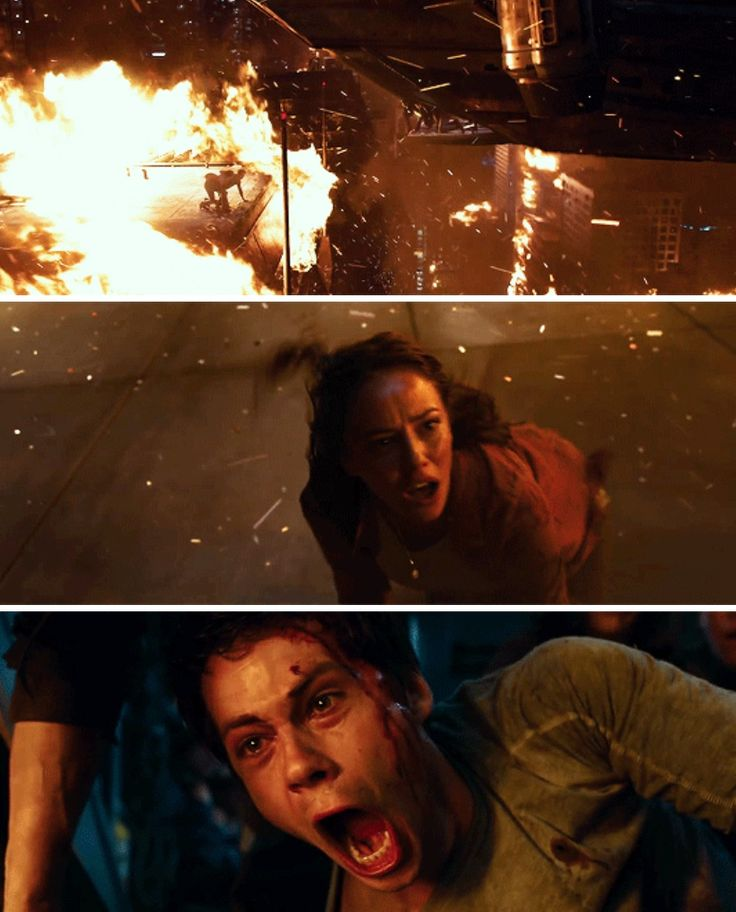 Maze Runner: The Death Cure - thomas and teresa<--------!!!SPOILERS!!!! So if you haven't read the death cure #1 what the crap  ya doing with your life #2 don't read this:) so in the death cure Teresa dies, is this how she is going to die in the movie? That's different and kinda harsh... She is left on top of a building that is burning with no way to survive. At least in the book it kinda just hit her (literally) if this is how he dies she will have a very slow and painful death... Unless…
