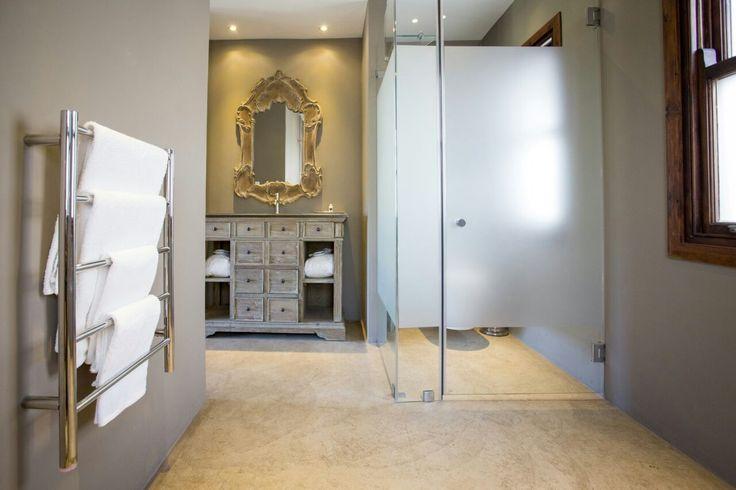 Villa 1 Second Bathroom with Shower