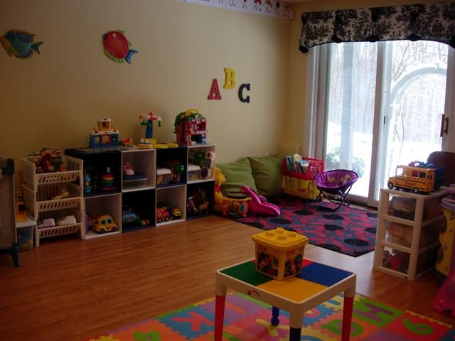 Home Daycare Setup In Living Room