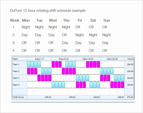24 7 Shift Schedule Template New 8 Hour Shift Schedule Template Shift Schedule Schedule Template Templates
