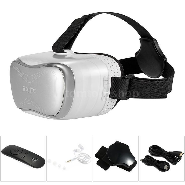 Android 4.4 Smart 1080P WiFi Qcta Core 2G 8G Virtual Reality VR 3D Video Glasses #Omimo