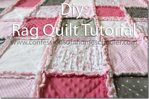 How to make a Rag Quilt: Tutorial (via Bloglovin.com )