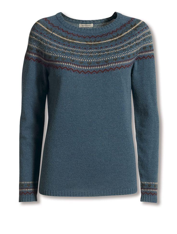 Striksweater. Kr. 400,-