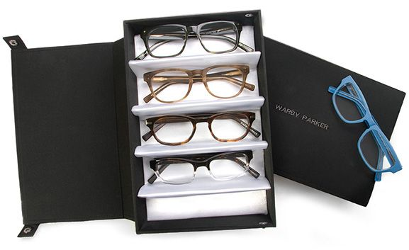 Very cool website for glasses- try 5 at home for free! Designer Frames & Online Eyeglasses - $95 Rx Glasses | Warby Parker