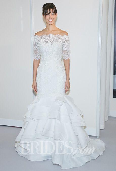 Lis Simon Wedding Dresses Fall 2014 Bridal Runway Shows Brides.com | Wedding Dresses Style | Brides.com