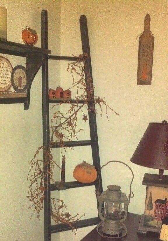 1000 Images About Primitive Ladders On Pinterest Logs