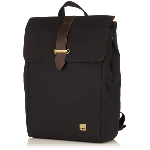 "Falmouth Black 15"" Laptop Backpack from KNOMO 