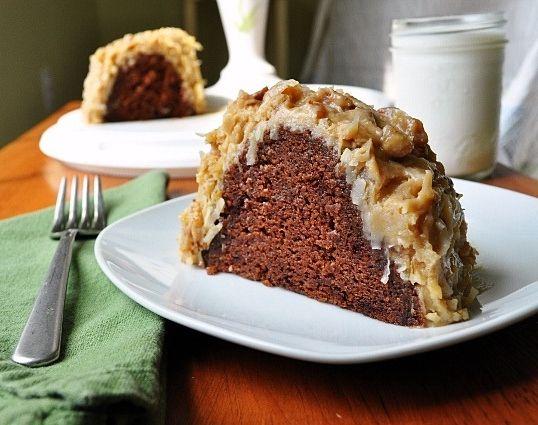 My grandfather's recipe for German Chocolate Cake