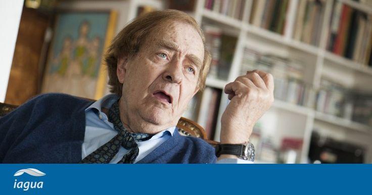 """Ramón Tamames: """"Cuando el servicio de agua es bueno, la gente no exige ninguna remunicipalización"""""""
