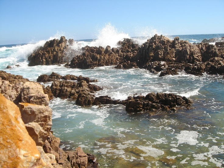 Amazing scenery, rugged beaches, all those colors, water, rocks, awesome, buffels baai