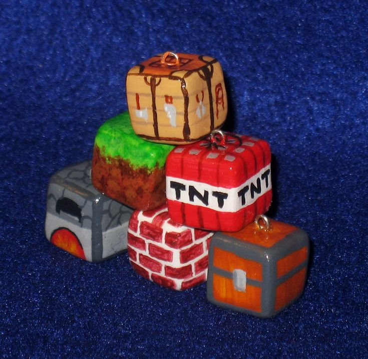 ... Miniature: The quest to make all things Minecraft out of polymer clay