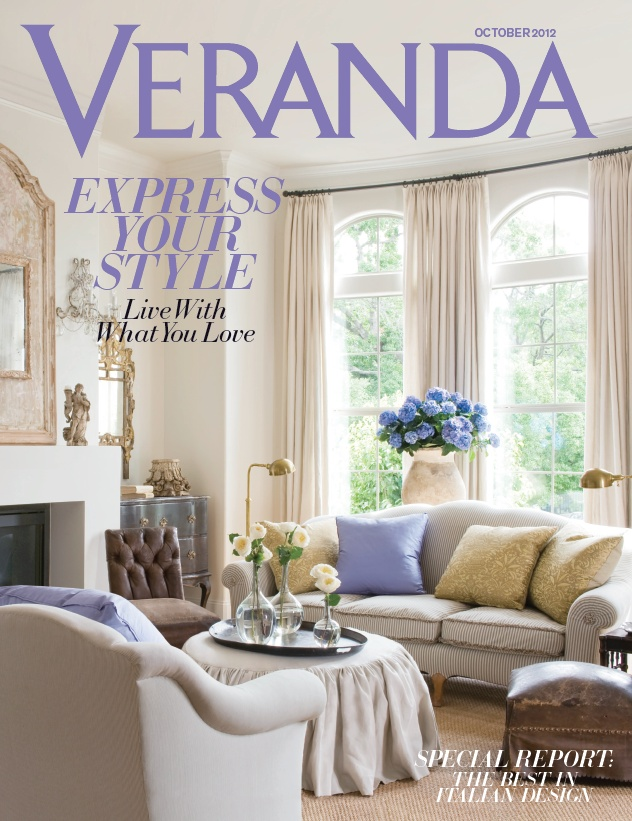 Veranda Magazine, September/October 2012 (Check Out The Special Feature On  Italian Interior Design House Design Interior House Design Room Design