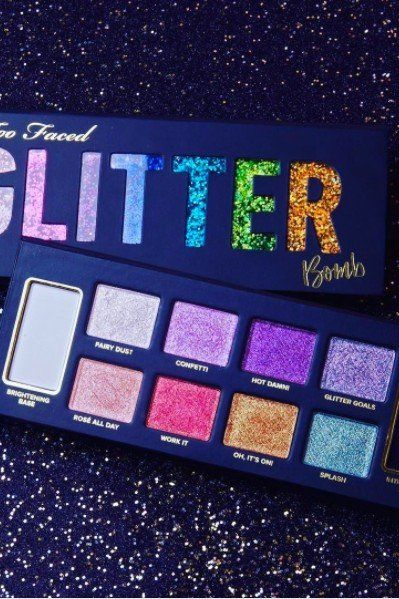 "This New Too Faced Palette Will ""Revolutionize Your Glitterization"""