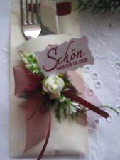 Serviettentasche Farbwahl,Servietten - Tasche,Taufe,Hochzeit,Konfirmation