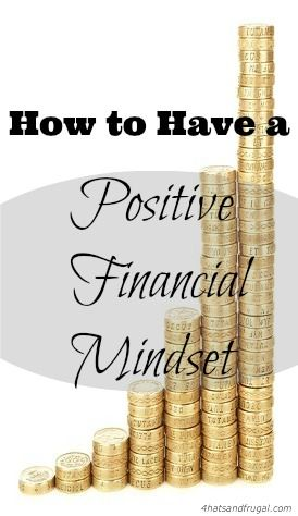 Here are 4 tips on how to have a positive financial mindset, and get rid of debt even quicker than you thought possible.