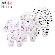 HHTU 2017 Nieuwe Baby Rompertjes Katoen Lange Mouw Baby Kleding Overalls voor Pasgeboren Baby Kleding Jongen Meisje Romper Jumpsuit(China (Mainland))