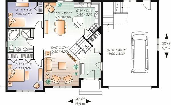 34 Best Amazing Split Level Floor Plans Images On