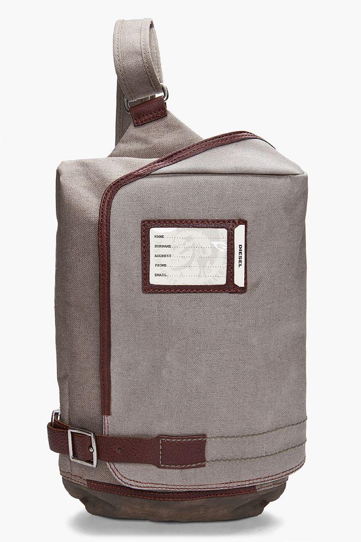 Amazing Diesel backpack #fashion // #men // #mensfashion